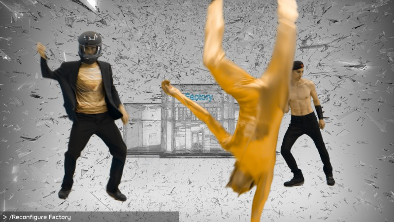 Hito Steyerl, Factory of the Sun MOV File, 2015, Video still. Courtesy Hito Steyerl.