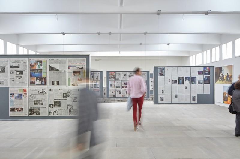 Tobias Zielony, The Citizen, 2015, Installationsansicht. Courtesy Tobias Zielony & KOW, Berlin. Foto: Manuel Reinartz